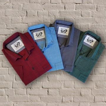 Мъжки памучни ризи 0817