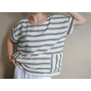 Дамска блуза рае с джобове