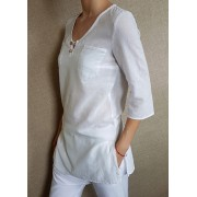 Ladies tunic with slits