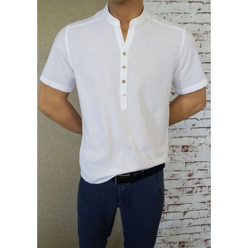 Men's Robe 50% Linen 50% Cotton - 1913
