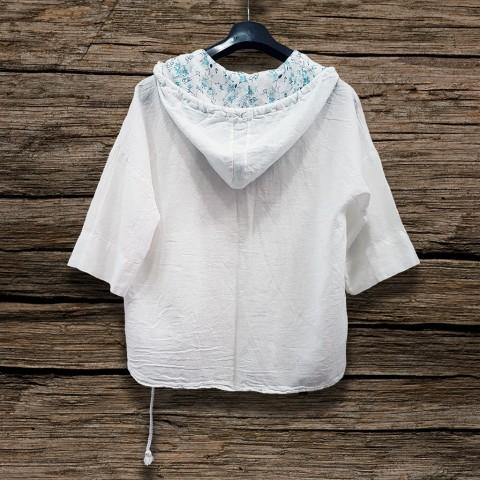 Women's Summer Vest with hoodie