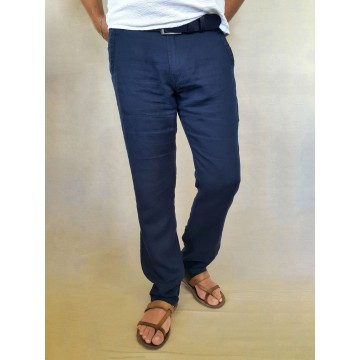 100% Linen Men's Trousers - 1901