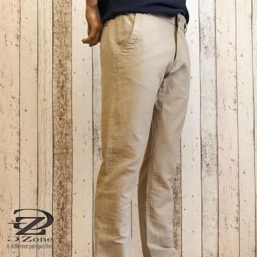 Големи Размери - Мъжки Панталони 69% Лен 31% Памук - Г1901-1