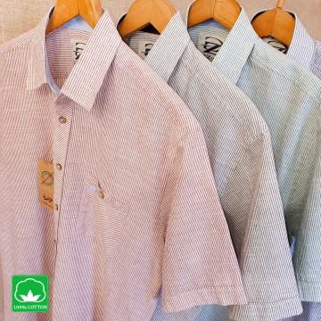 Мъжка риза Ситно райе