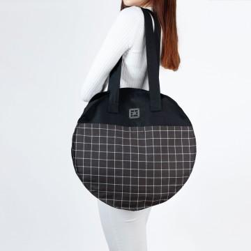 """Designer circle tote bag """"MIA"""""""
