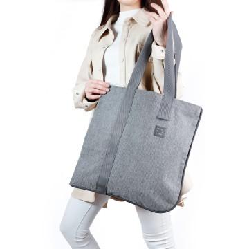 """Asymmetric tote bag """"Bevel G"""""""
