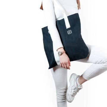 """Asymmetric tote bag """"Bevel B"""""""