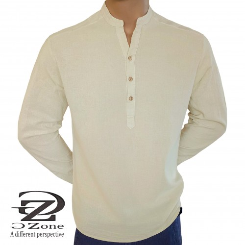 Men's robe 50% Linen 50% Cotton - 1117